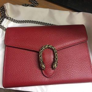 Gucci Bags - Gucci  Dionysus leather mini chain bag